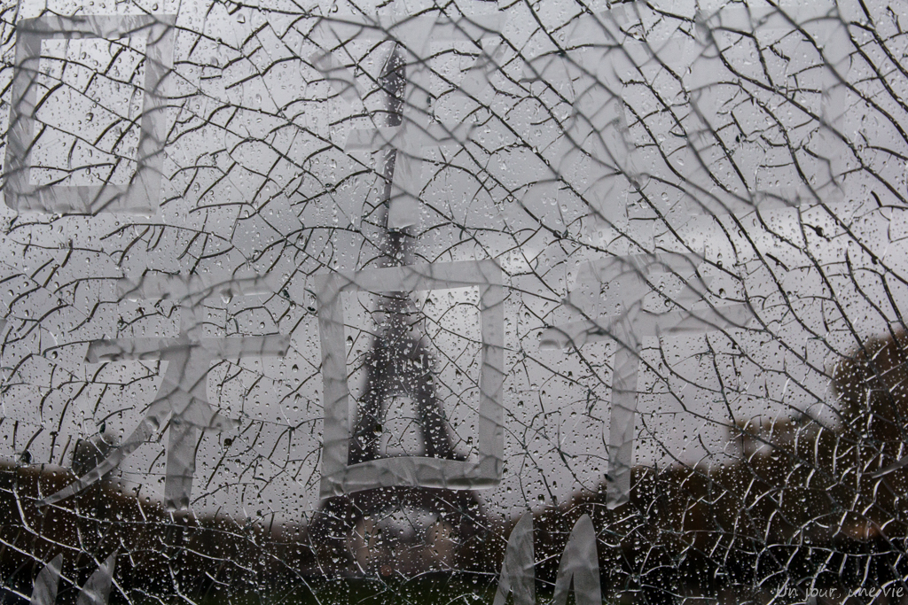 Weekend à Paris – walking in the rain