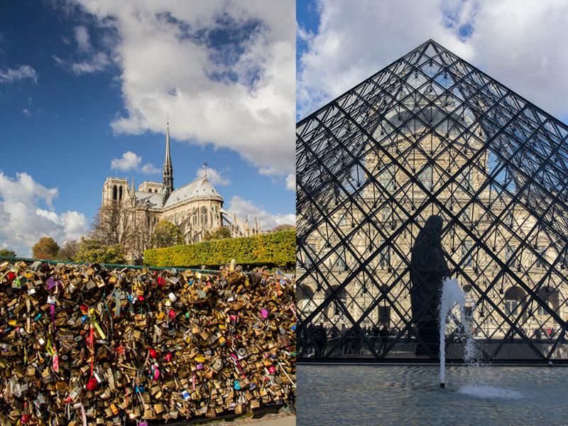 Weekend à Paris – de Notre-Dame au Louvre, et puis s'en va