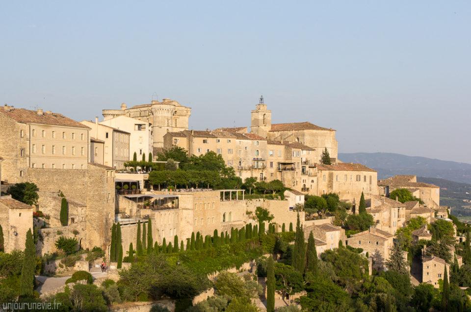 Balade à Gordes, plus beaux villages de France
