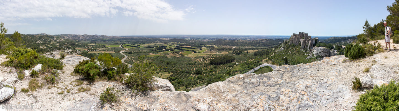 Panorama_ Baux de provence