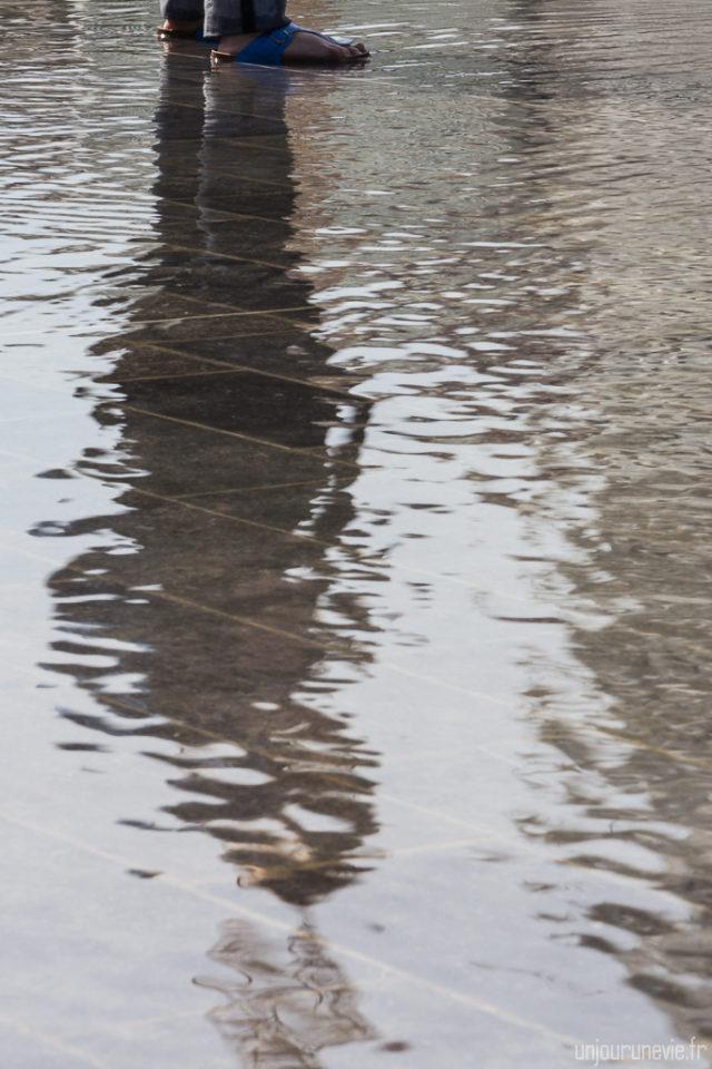 miroir d'eau - Montpellier