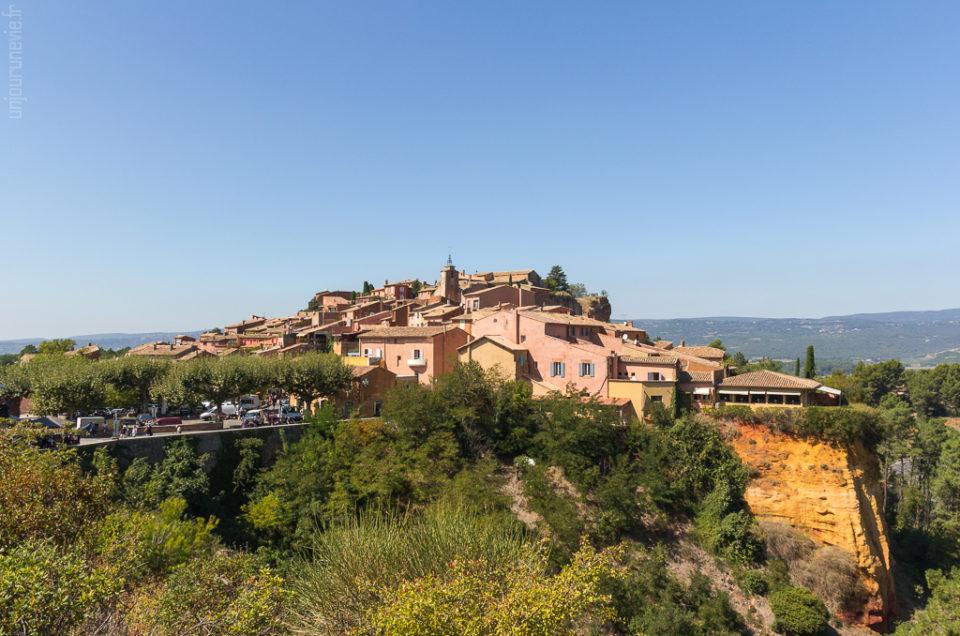 Le village de Roussillon, en Luberon