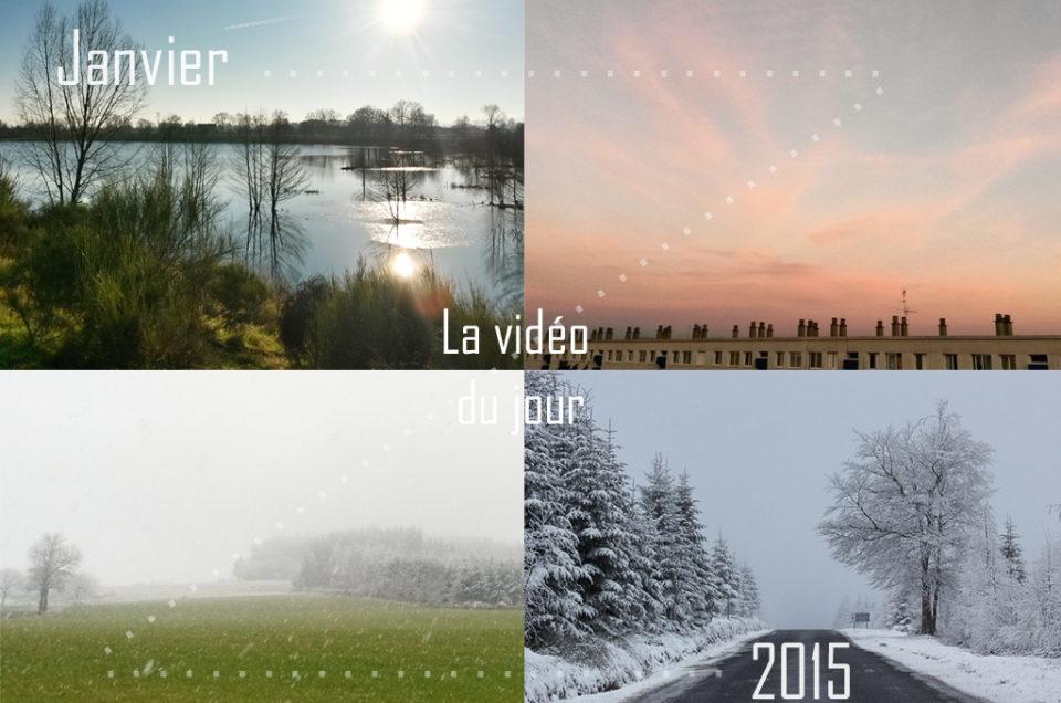 Vidéo du jour – Janvier en 30 secondes
