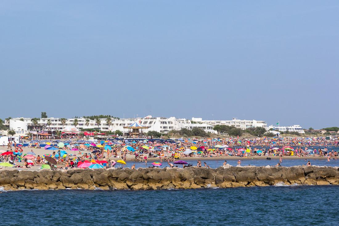 plage, la grande motte