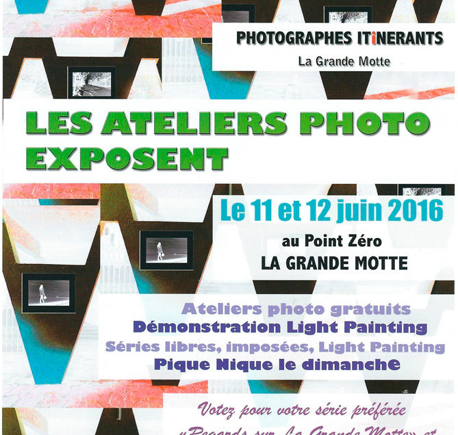 Photographes Itinérants : Les ateliers photos exposent
